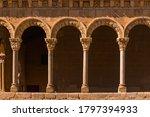 Romanesque Arch In Segovia Spain