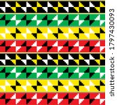 kente nwentoma cloth style... | Shutterstock .eps vector #1797430093