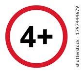4 restriction flat sign...