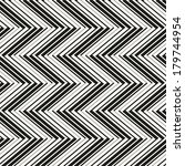 seamless pattern with zigzag... | Shutterstock .eps vector #179744954