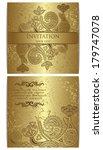 vector set. elegant floral...   Shutterstock .eps vector #179747078