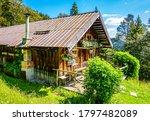 Old Farmhouse At The European...
