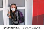 young student girl wearing... | Shutterstock . vector #1797483646