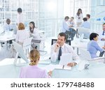 group of business people... | Shutterstock . vector #179748488