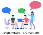 vector illustration of business ... | Shutterstock .eps vector #1797508486