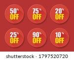 sale tags set vector badges...   Shutterstock .eps vector #1797520720