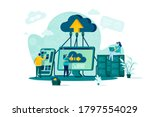 Cloud Computing Concept In Flat ...