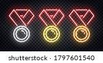 vector set of realistic... | Shutterstock .eps vector #1797601540