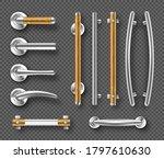 handles for doors or windows ... | Shutterstock .eps vector #1797610630