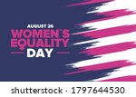 women's equality day in united... | Shutterstock .eps vector #1797644530