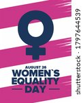 women's equality day in united... | Shutterstock .eps vector #1797644539
