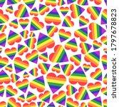 vector abstract doodles...   Shutterstock .eps vector #1797678823