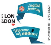 london ribbons | Shutterstock .eps vector #179768324