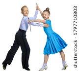 Sports Ballroom Dancing. Couple ...