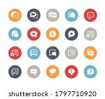 bubble icons    classics series | Shutterstock .eps vector #1797710920