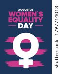 women's equality day in united... | Shutterstock .eps vector #1797714013