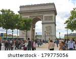 paris  france   july 10  2012   ... | Shutterstock . vector #179775056