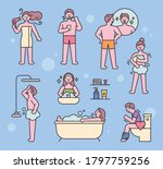 various people characters in... | Shutterstock .eps vector #1797759256