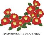 Camellia Flower Material  ...