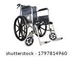 Wheelchair On The White...