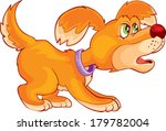 angry dog | Shutterstock .eps vector #179782004