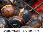 A Group Of Chestnuts Getting...