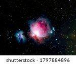 Running Man Firebird Nebula M42 ...
