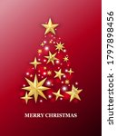 christmas and new year red... | Shutterstock .eps vector #1797898456