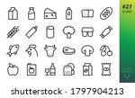 Food And Grocery Store Icons...