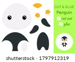 Cut And Glue Baby Penguin....