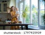 beautiful young brunette woman... | Shutterstock . vector #1797925939
