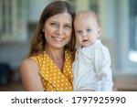 beautiful young brunette woman... | Shutterstock . vector #1797925990