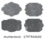 vector grunge distressed labels ... | Shutterstock .eps vector #1797964630