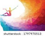 creative silhouette of... | Shutterstock .eps vector #1797970513