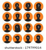 vector illustration of man and... | Shutterstock .eps vector #179799014