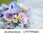beautiful wedding bouquet and... | Shutterstock . vector #179799683