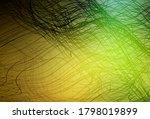 dark green  yellow vector... | Shutterstock .eps vector #1798019899