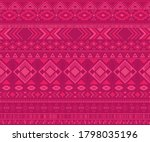 peruvian american indian... | Shutterstock .eps vector #1798035196