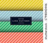 collection of minimal diagonal...   Shutterstock .eps vector #1798040446