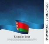 belarus flag background.... | Shutterstock .eps vector #1798107100
