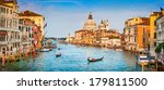 panoramic view of famous canal... | Shutterstock . vector #179811500