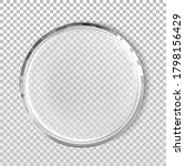 empty petri dish isolated... | Shutterstock .eps vector #1798156429