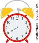 icon of alarm clock in ui...