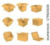box set. raster copy. | Shutterstock . vector #179820638
