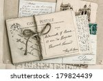 Old Letters And Antique French...