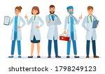 doctors team. healthcare... | Shutterstock . vector #1798249123