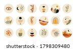 abstract story highlight cover. ... | Shutterstock .eps vector #1798309480
