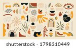 abstract doodle shapes.... | Shutterstock .eps vector #1798310449