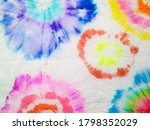 colorful dyed art. organic hand ... | Shutterstock . vector #1798352029