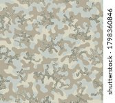 beige repeated color vector... | Shutterstock .eps vector #1798360846